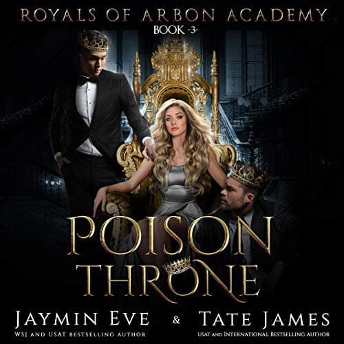 Poison Throne audiobook by Jaymin Eve